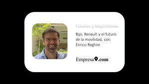 Bipi, Renault y el futuro de la movilidad, con Enrico Reghini