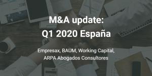 Fusiones y adquisiciones Q1 2020 España