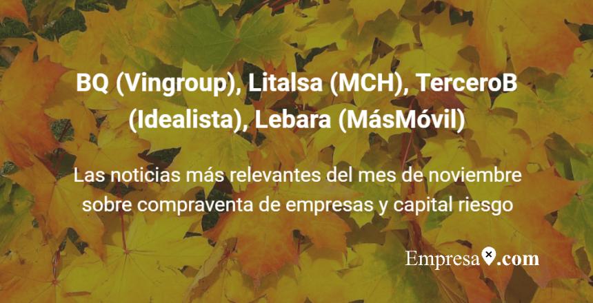 BQ Vingroup Litalsa MCH TerceroB Idealista Lebara MasMovil Empresax.com
