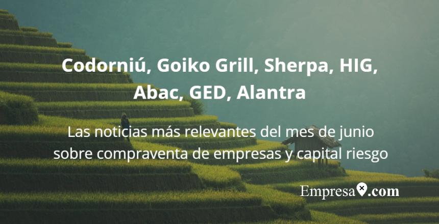 Empresax.com Codorniu Goiko Grill Sherpa Alantra GED Abac