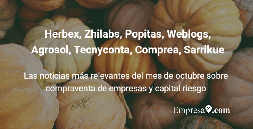 Empresax.com Herbex, Zhilabs, Popitas, Weblogs, Agrosol, Tecnyconta