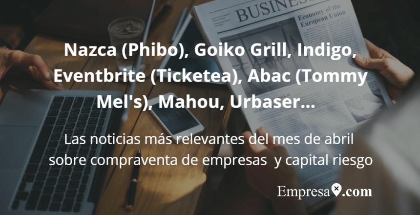 Empresax.com Nazca Phibo Goiko Grill Indigo Eventbrite Abac Tommy Mel