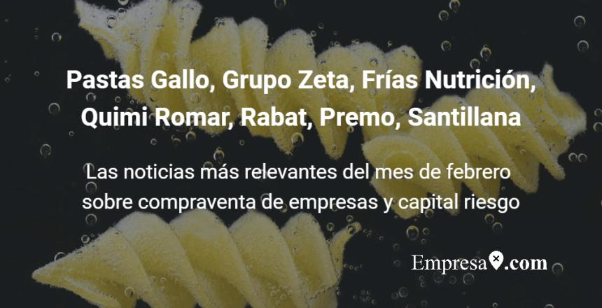 Empresax.com Pastas Gallo Quimi Romar Frias Nutricion Zeta Rabat