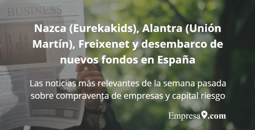 Empresax.com nazca eurekakids alantra union martin freixenet