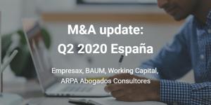 Fusiones y adquisiciones Q2 2020 España